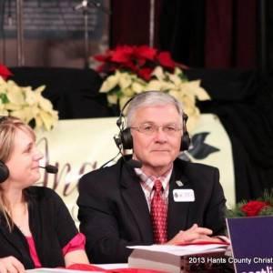 Amanda Misner and Mayor Paul Beazley